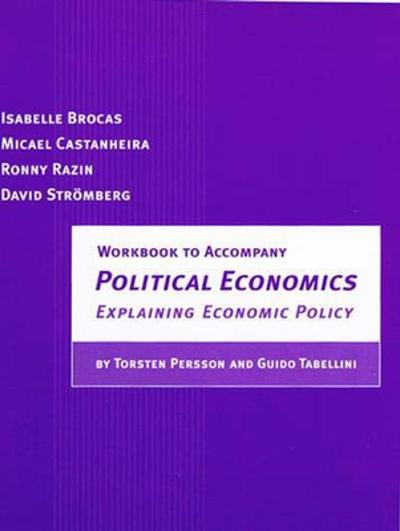 Workbook to Accompany Political Economics - Isabelle Brocas