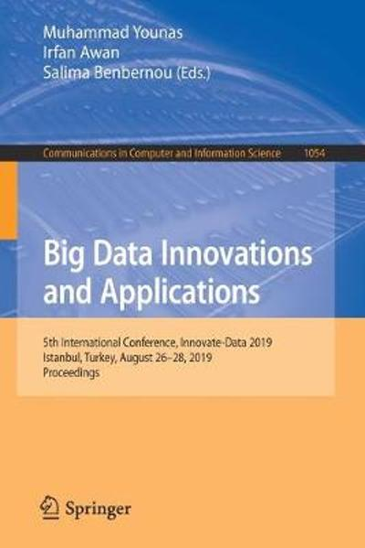 Big Data Innovations and Applications - Muhammad Younas