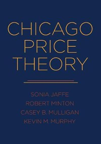 Chicago Price Theory - Sonia Jaffe