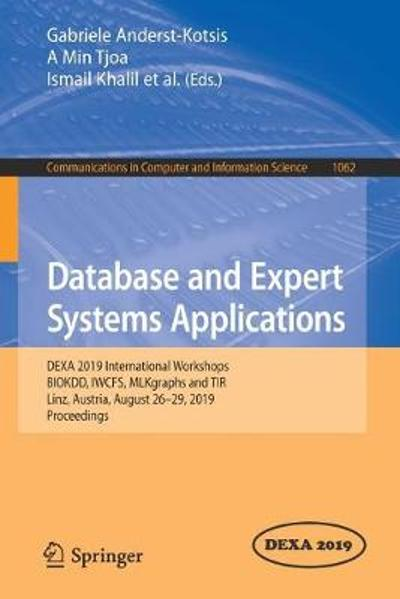 Database and Expert Systems Applications - Gabriele Anderst-Kotsis