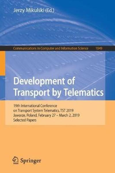 Development of Transport by Telematics - Jerzy Mikulski