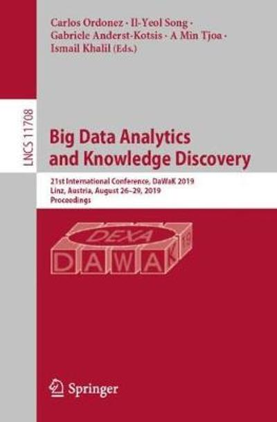 Big Data Analytics and Knowledge Discovery - Carlos Ordonez