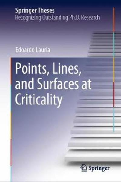 Points, Lines, and Surfaces at Criticality - Edoardo Lauria