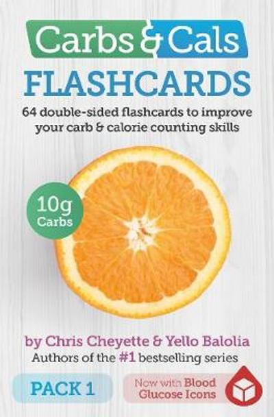 Carbs & Cals Flashcards PACK 1 - Chris Cheyette