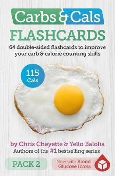 Carbs & Cals Flashcards PACK 2 - Chris Cheyette