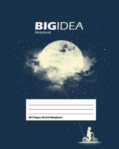 Big Idea School, Write-in, Composition, Large Size 8 x 10 In, Notebook (Navy Blue) - Night Hauler