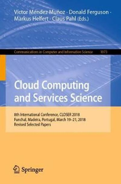Cloud Computing and Services Science - Victor Mendez Munoz