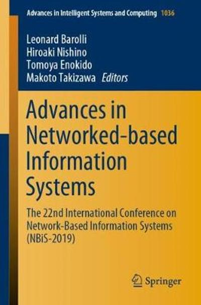 Advances in Networked-based Information Systems - Leonard Barolli