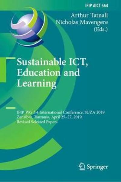 Sustainable ICT, Education and Learning - Arthur Tatnall
