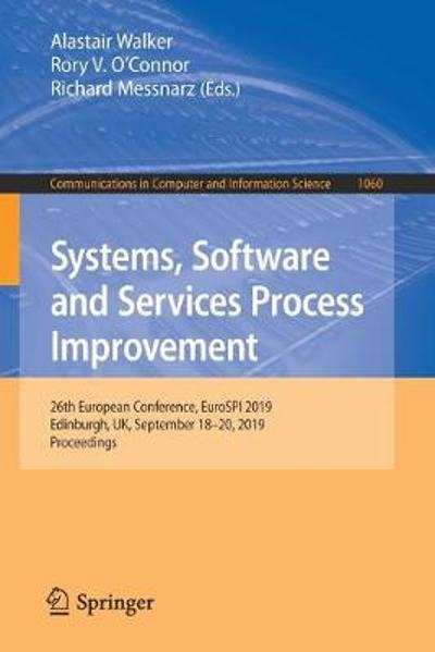 Systems, Software and Services Process Improvement - Alastair Walker