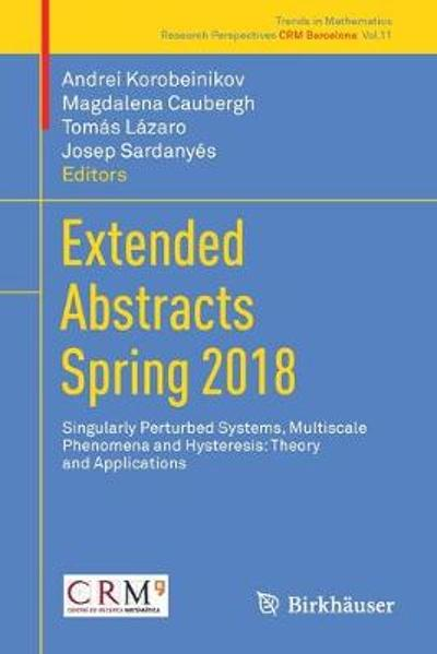 Extended Abstracts Spring 2018 - Andrei Korobeinikov