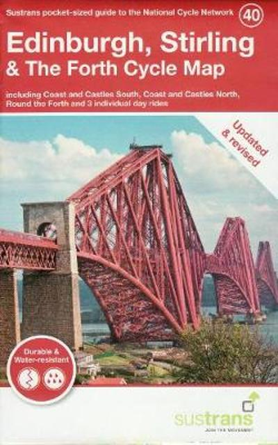 Edinburgh, Stirling & The Forth Cycle Map -