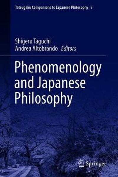 Tetsugaku Companion to Phenomenology and Japanese Philosophy - Shigeru TAGUCHI