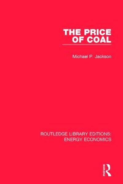 The Price of Coal - Michael P. Jackson