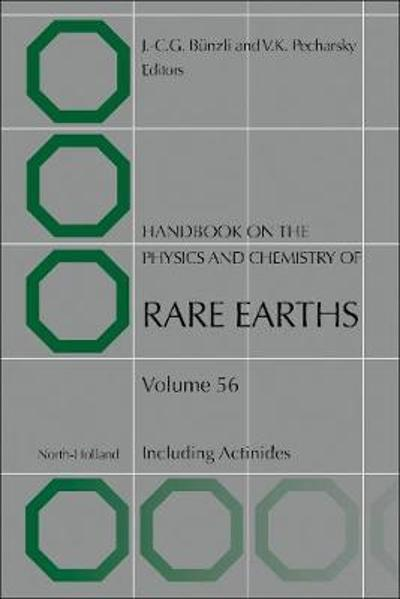 Handbook on the Physics and Chemistry of Rare Earths - Jean-Claude G. Bunzli