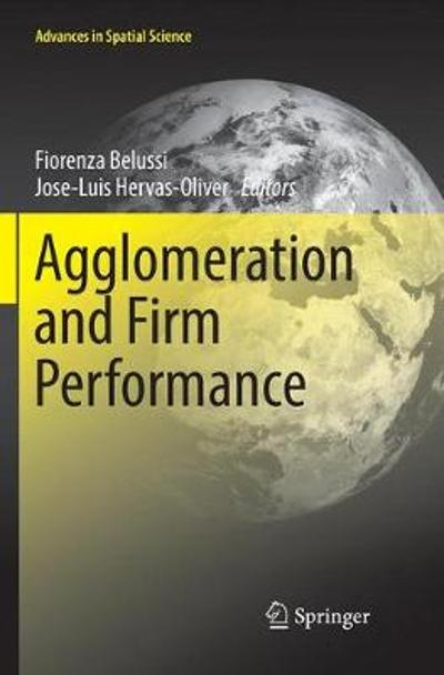 Agglomeration and Firm Performance - Fiorenza Belussi