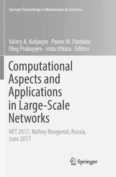 Computational Aspects and Applications in Large-Scale Networks - Valery A. Kalyagin