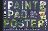 Paint Pad Poster Book: Country Scenes - Various