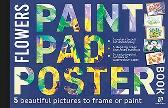 Paint Pad Poster Book: Flowers - Various