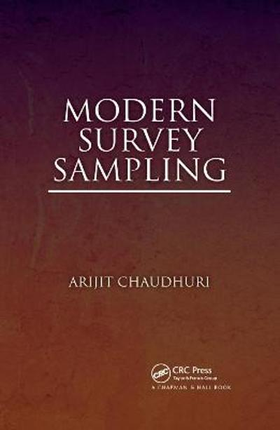 Modern Survey Sampling - Arijit Chaudhuri