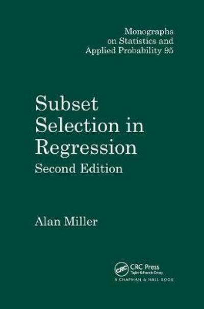 Subset Selection in Regression - Alan Miller