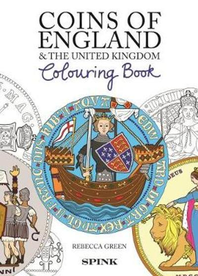 Coins of England Colouring Book - Rebecca Green