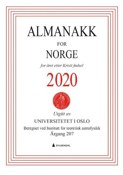 Almanakk for Norge 2020 - Universitetet i Oslo