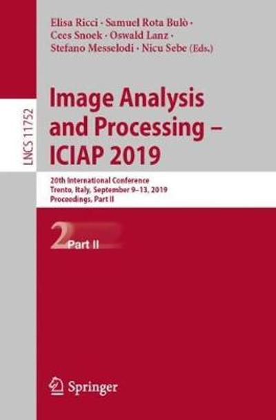 Image Analysis and Processing - ICIAP 2019 - Elisa Ricci