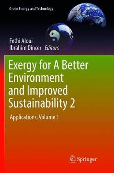 Exergy for A Better Environment and Improved Sustainability 2 - Fethi Aloui