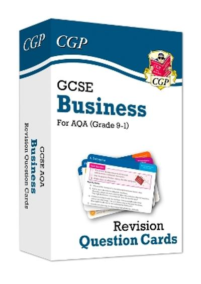 New Grade 9-1 GCSE Business AQA Revision Question Cards - CGP Books