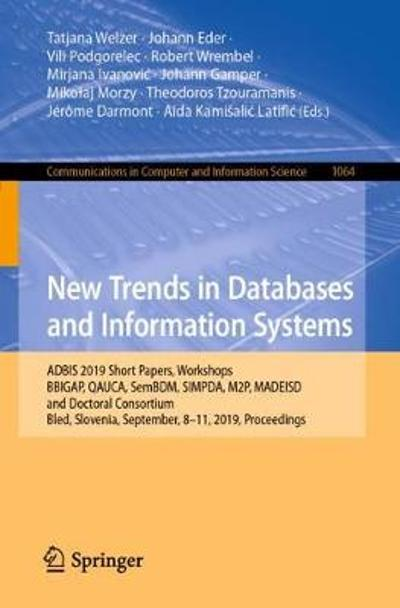 New Trends in Databases and Information Systems - Tatjana Welzer