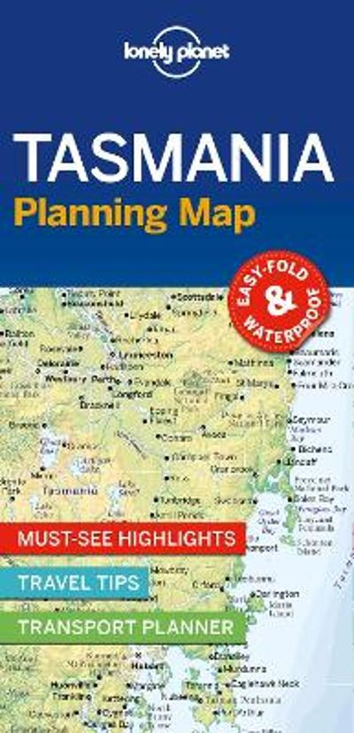 Lonely Planet Tasmania Planning Map - Lonely Planet