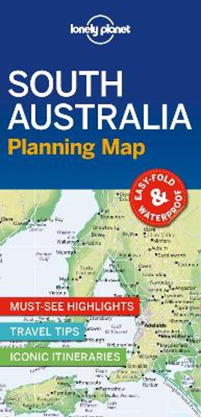 Lonely Planet South Australia Planning Map - Lonely Planet