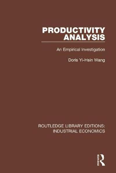 Productivity Analysis - Doris Y. Wang