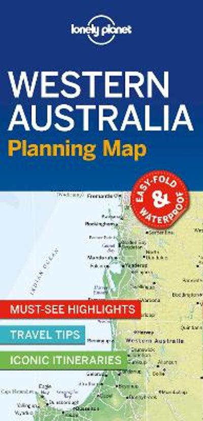 Lonely Planet Western Australia Planning Map - Lonely Planet