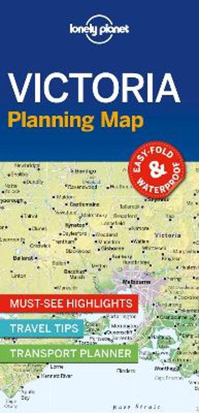 Lonely Planet Victoria Planning Map - Lonely Planet