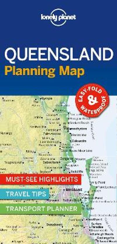 Lonely Planet Queensland Planning Map - Lonely Planet