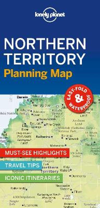 Lonely Planet Northern Territory Planning Map - Lonely Planet