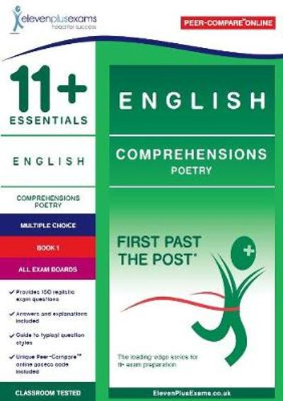 11+ Essentials English Comprehensions: Poetry Book 1 -