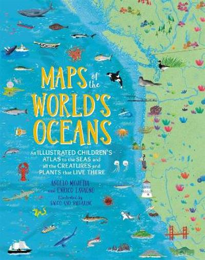 Maps of the World's Oceans - Angelo Mojetta