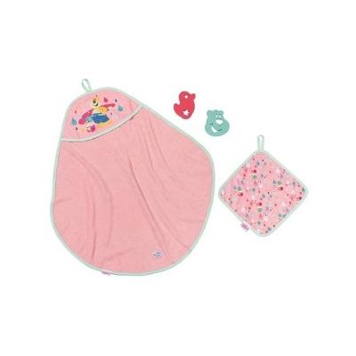 BABY Born Bath Hooded Towel Set - BABY born