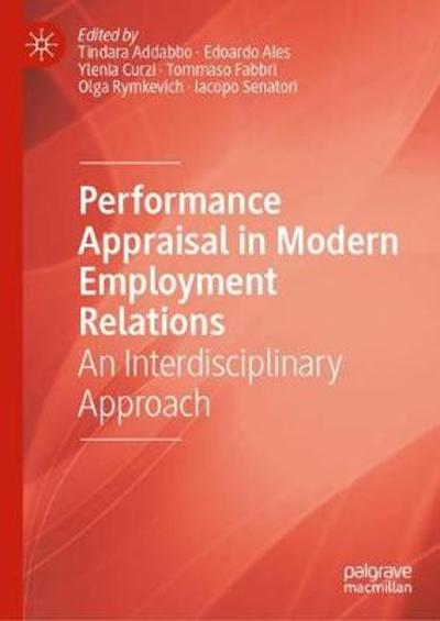 Performance Appraisal in Modern Employment Relations - Tindara Addabbo