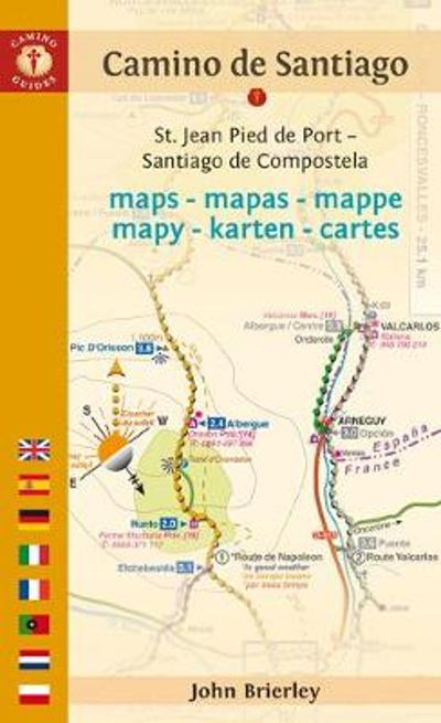 Camino De Santiago Maps - John Brierley
