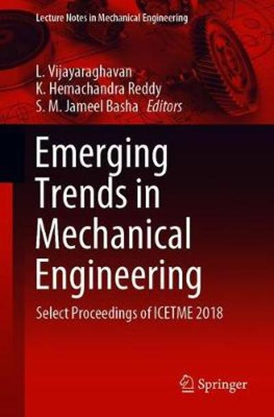 Emerging Trends in Mechanical Engineering - L. Vijayaraghavan