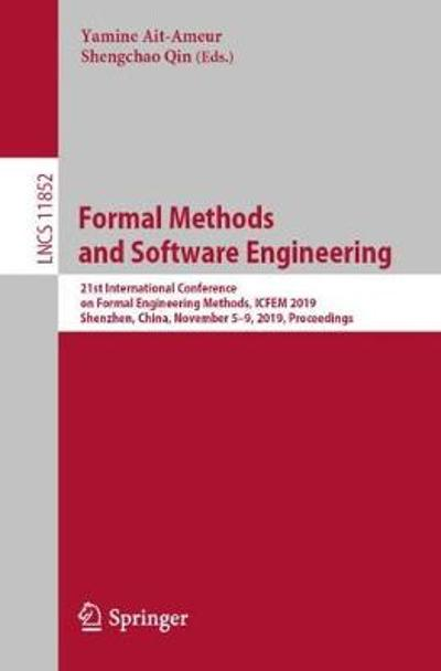 Formal Methods and Software Engineering - Yamine Ait-Ameur