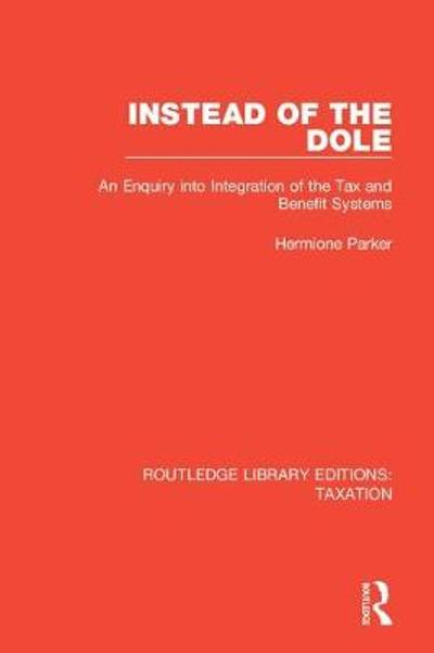 Instead of the Dole - Hermione Parker