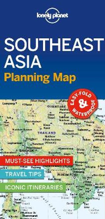 Lonely Planet Southeast Asia Planning Map - Lonely Planet
