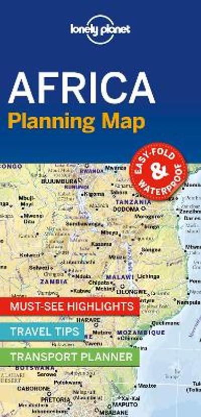 Lonely Planet Africa Planning Map - Lonely Planet