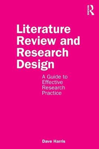 Literature Review and Research Design - Dave Harris