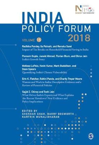 India Policy Forum 2018 - Shekhar Shah